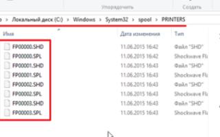 Как очистить очередь печати в windows (виндовс) 10