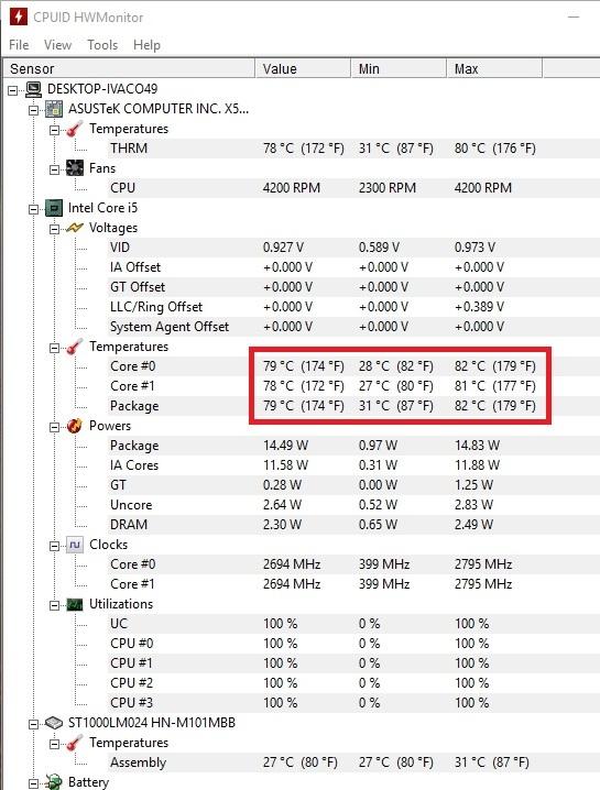 Что такое нормальная температура процессора ноутбука — как узнать