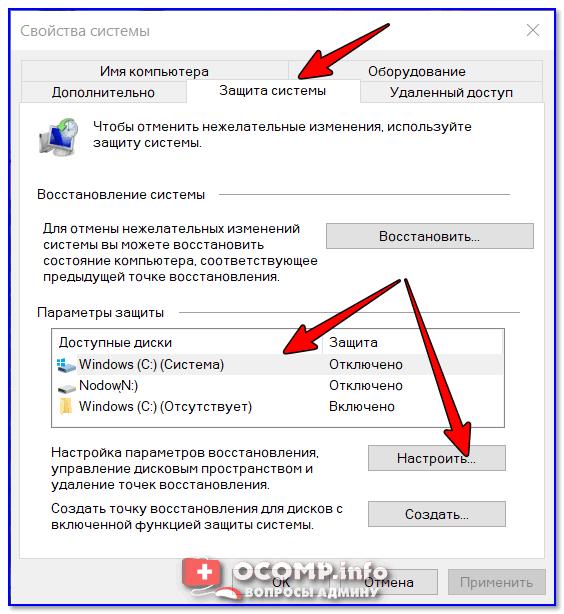 Куда пропадает место с диска c и как его освободить?
