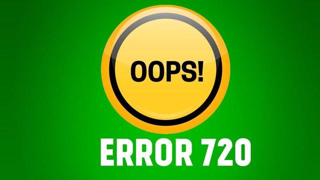 Ошибка 720 при подключении к интернету — как исправить