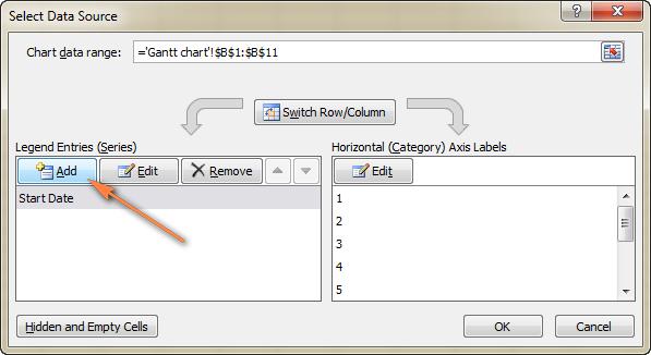 Как сделать диаграмму Ганта в excel: пошаговая инструкция