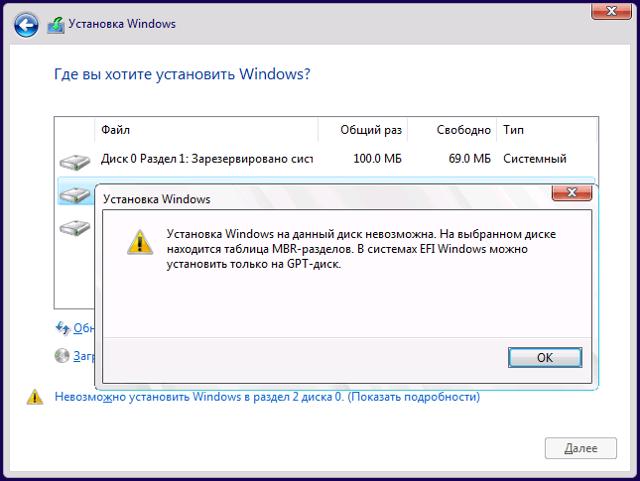Замена mbr на gpt: устанавливаем windows (Виндовс) 10 без ошибок