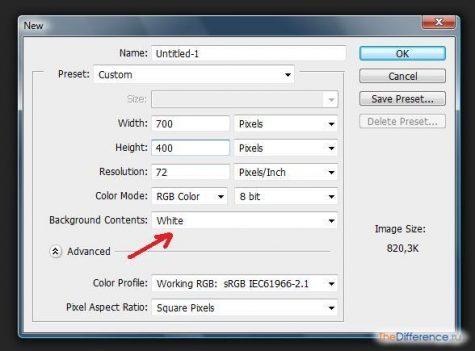 Как нарисовать таблицу в photoshop в 4 этапа