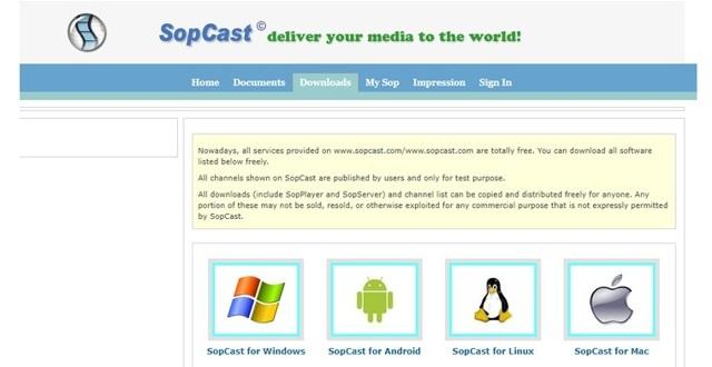 Что такое СопКаст (sopcast) и как им пользоваться — инструкция