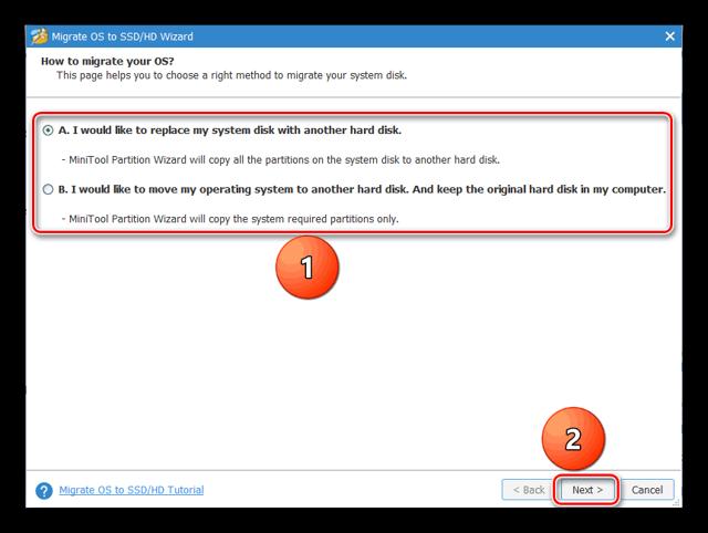 Выполняем клонирование данные с одного ssd-диска на другой ssd