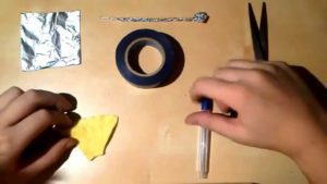 Как сделать стилус для смафртона из обычных предметов?