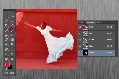 Как создать и работать с альфа-каналами в adobe photoshop