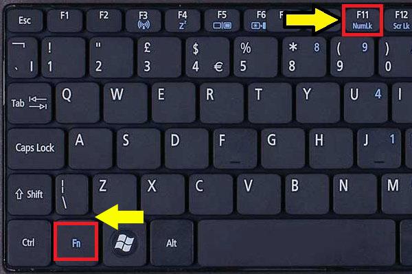 Что делать, если не работает shift на клавиатуре ноутбука?