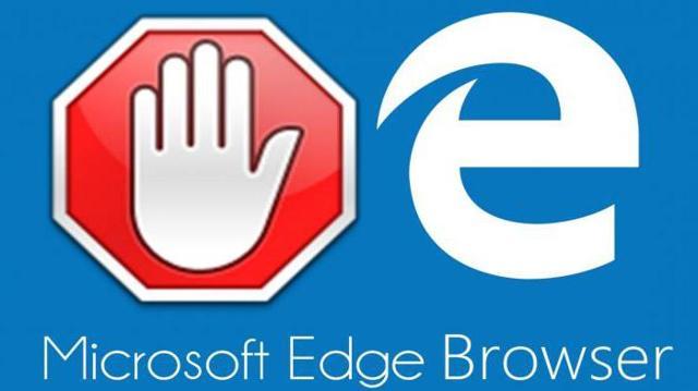 Убрать рекламу в microsoft edge с помощью расширений!