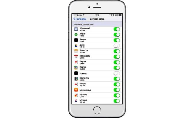 Как отключить мобильный интернет на iphone за границей