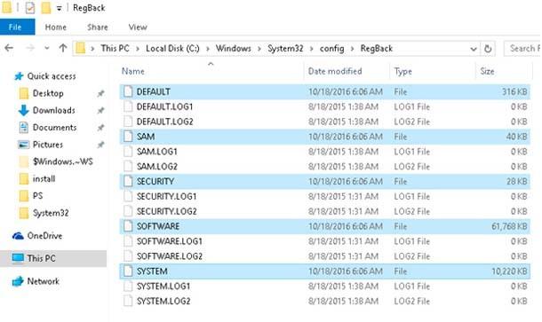 Подробная инструкция создания резервной копии реестра windows 10