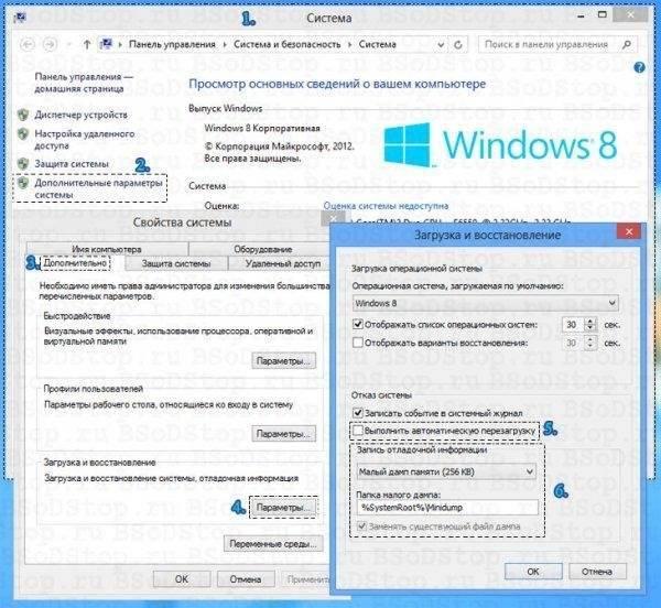 Синий экран смерти в windows 8: что делать и как исправить