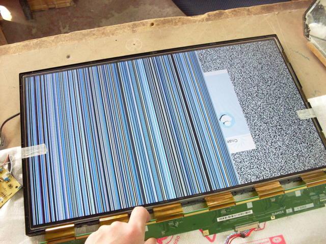 Полосы на экране телевизора — причины их появления, как исправить