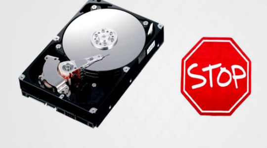 Что предпринять, если жесткий диск щелкает и не запускается