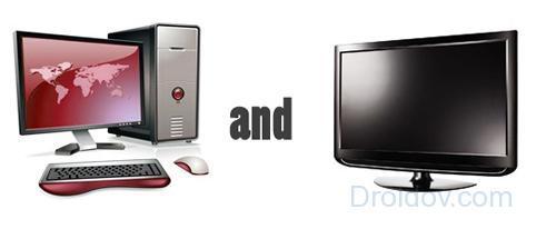 Инструкция, как подключить компьютер к телевизору без hdmi кабеля