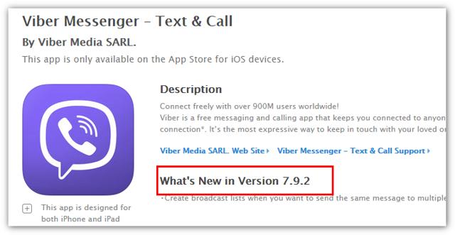 Как обновить viber на телефоне: ios и android