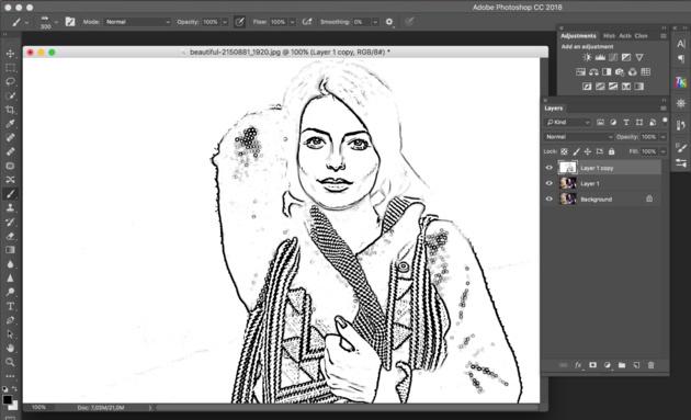 Инструкция как создать мультяшный эффект в Фотошопе (photoshop)