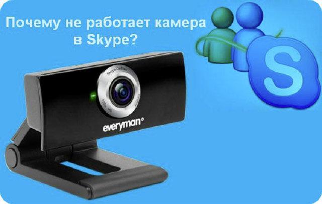 Что предпринять если не работает камера в Скайпе (skype)