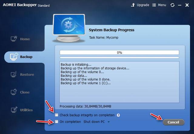aomei backupper что это за программа — инструкция как пользоваться