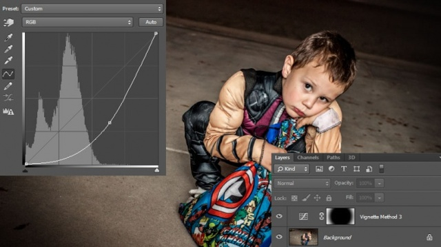 Как сделать виньетку у фотографии в adobe photoshop