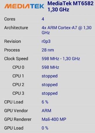 Как узнать какой процессор стоит на телефоне android