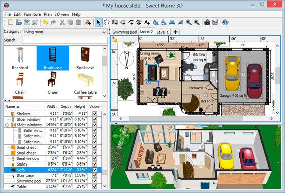 Программа для планировки квартиры онлайн — как пользоваться