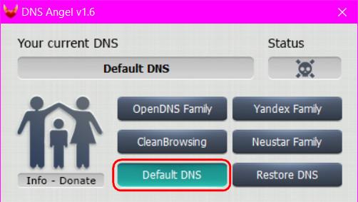 Как отключить Интернет Цензор без пароля в windows